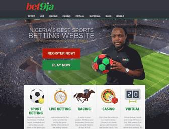 Thumbshot of Bet9ja.com