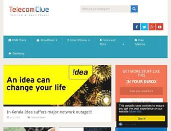 telecomclue.com screenshot