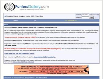 Thumbshot of Puntersgallery.com