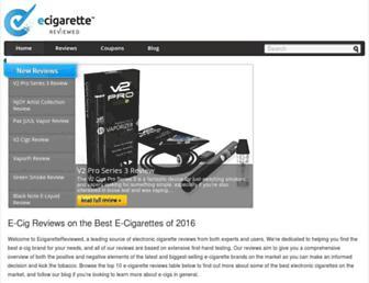 Thumbshot of Ecigarettereviewed.com