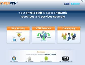 Thumbshot of Openvpn.net
