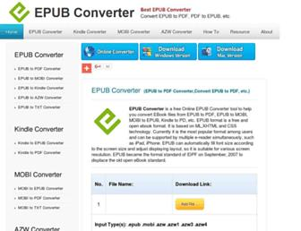 Thumbshot of Epubconverter.com