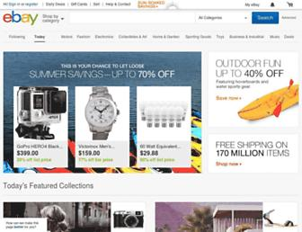 m.ebay.com screenshot