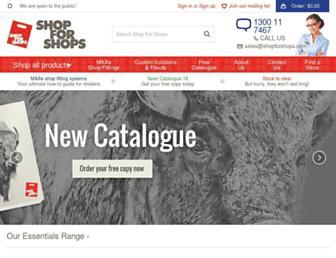 shopforshops.com screenshot