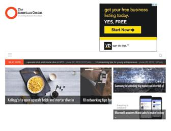 theamericangenius.com screenshot