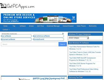 getpcapps.com screenshot