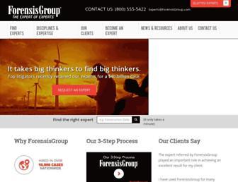 forensisgroup.com screenshot