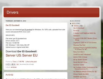 drivers-tom.blogspot.com screenshot