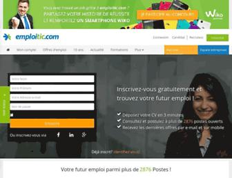 emploitic.com screenshot