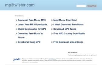 mp3twister.com screenshot