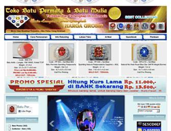 dabatupermata.com screenshot