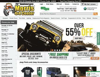 Thumbshot of Jeep4x4center.com