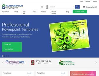 subscriptiontemplates.com screenshot