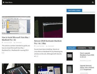 techonia.com screenshot