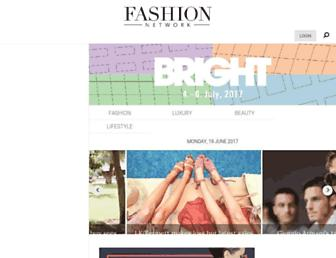 uk.fashionnetwork.com screenshot