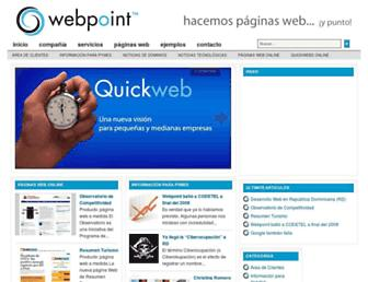 webpoint.com.do screenshot