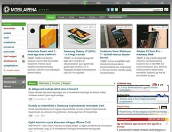 mobilarena.hu screenshot
