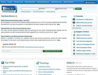 support.epnet.com screenshot