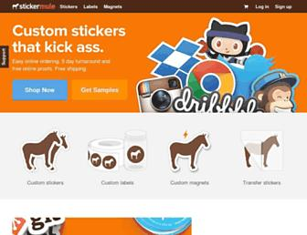 Thumbshot of Stickermule.com