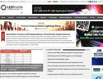 Thumbshot of Ledinside.com