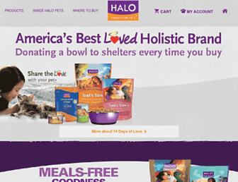Thumbshot of Halopets.com