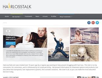 Thumbshot of Hairlosstalk.com