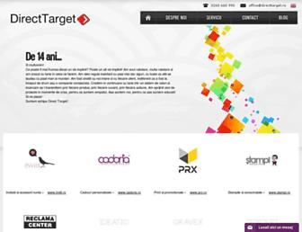 directtarget.ro screenshot