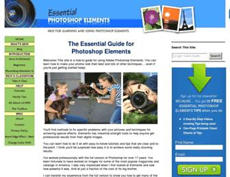 essential-photoshop-elements.com screenshot