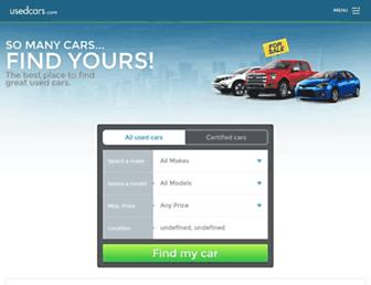 usedcars.com screenshot