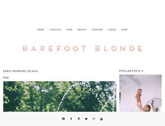 Thumbshot of Barefootblonde.com
