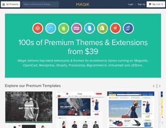 Thumbshot of Magikcommerce.com