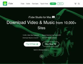 itube.aimersoft.com screenshot