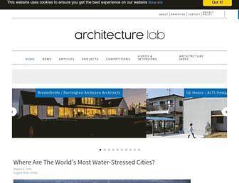 architecturelab.net screenshot
