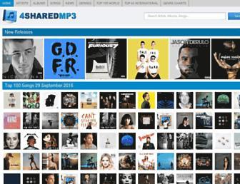 4sharedmp3.org screenshot