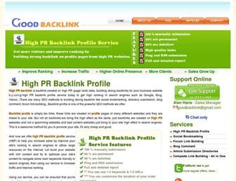 good-backlink.com screenshot