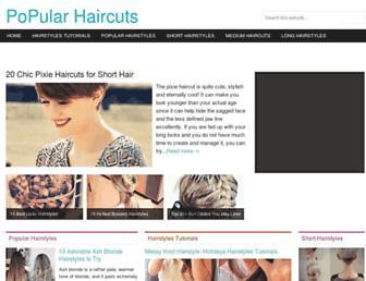 Thumbshot of Pophaircuts.com