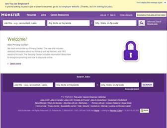 inside.monster.com screenshot