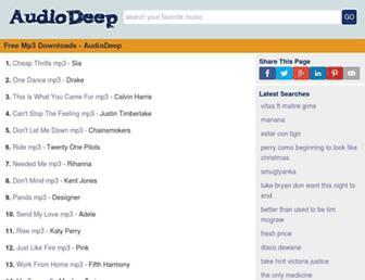 audiodeep.com screenshot