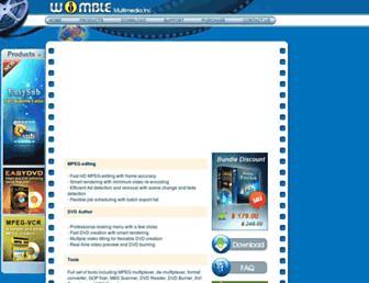 womble.com screenshot