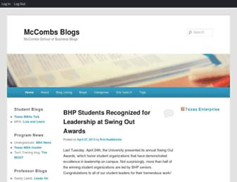 blogs.mccombs.utexas.edu screenshot