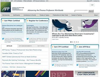 Thumbshot of Afponline.org