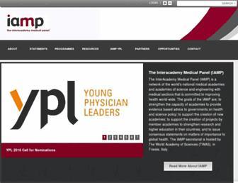 iamp-online.org screenshot