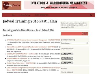 trainingcenter.co.id screenshot