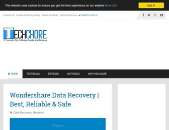 techchore.com screenshot