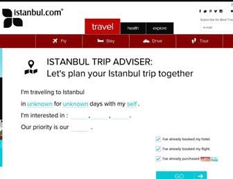english.istanbul.com screenshot