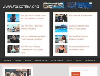 folkoteka.org screenshot