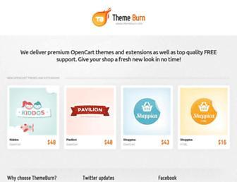 Thumbshot of Themeburn.com
