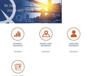 qsure.com.au screenshot