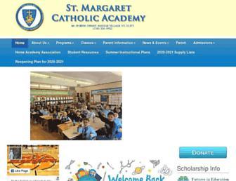 stmargaretschoolmv.org screenshot