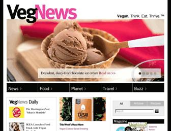 Thumbshot of Vegnews.com